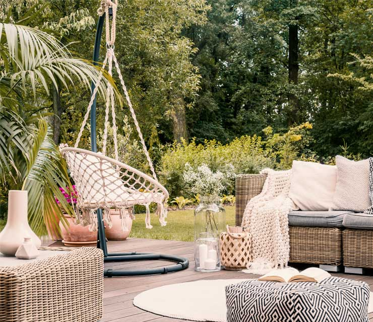 Get the look: Outdoor Oasis in Small Spaces